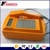 Telefone impermeável com LCD e teclado Knsp-18Kntech LCD
