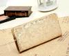 Wallet Embossed石のジッパーの女性ハンド・バッグ(BDMC145)