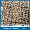 El laser del color del oro cortó el tabique del metal del acero inoxidable 304