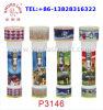 Populär in der Afrika-Klinge-Löwe-Marke 2*D batteriebetriebene Fackel-Taschenlampe des Plastikled trocknen