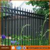 粉の上塗を施してある錬鉄の管の機密保護の庭の塀