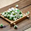 Os petiscos revestidos originais naturais das ervilhas verdes, venda por atacado Roasted ervilhas verdes revestidas