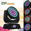 36PCS 10W RGBW 4in1 기운 세척 LED 이동하는 맨 위 빛