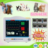 Portable Portable 12.1 Inch IBP Etco2 Multi-Parámetros Hospital Vital Sign Monitor / Veterinario Monitor de Pacientes para Animales