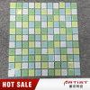 Mosaico autoadesivo di vetro della piscina verde della stanza da bagno 25*25