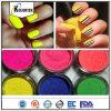 Pigmento Fluorescente em pó, 11 cores de pigmento de néon para esmalte de unha