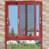 Aluminiumfenster-Rahmen-Moskito-Filetarbeits-schiebendes Glasfenster mit Verschluss