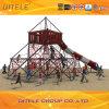 PE Playground Equipment (NC-07701)를 위한 Ipema Net Game Climber