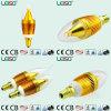Chip CREE 5W E14/B15 Scob Bombilla de luz de vela (LS-B305)
