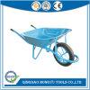 blauer Hochleistungsstahlschubkarre-Kipper (WB6400BW)