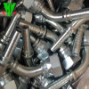 Montaggi di tubo flessibile idraulici d'acciaio di vendita caldi del tubo flessibile dell'accoppiatore della scatola di gomma dei montaggi Jic