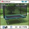 Trampoline прямоугольника разминки заднего двора свободно для сбывания