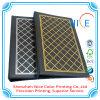 Carpeta de archivo del cuero de la impresión en offset de la impresión de la carpeta de archivo del papel coloreado
