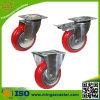 Mingze Hochleistungs-PU-Fußrollen-Räder