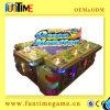 Máquina de jogo eletrônica do jogo da estação dos peixes do entalhe
