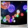 Luz comercial da esfera da decoração 3D do feriado da rua do Natal