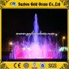 De ronde Fontein van het Water van de Regenboog van de Vorm Lichten Aangepaste