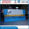 QC11y-10X2500 Cisaillement guillotine hydraulique Machine & Machine de découpe de tôles en acier