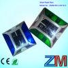 Etiqueta de plástico solar cuadrada del camino del espárrago/LED del camino de la aleación de aluminio de la dimensión de una variable