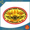 Zubehör-kundenspezifisches Goldbarren-Stickerei-Abzeichen