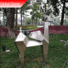 Metal Craft personnalisé Abstract Deer Sculpture en acier inoxydable