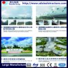 Estructura de acero de China la construcción de la casa de aves de corral prefabricados
