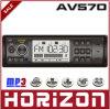 Acoustique de voiture de l'horizon AV570, joueur de la voiture MP5, radio de accord électronique de FM