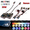 Xeno caldo del kit del kit NASCOSTO 8000k H4 H7 H11 H13 del kit 12V 24V 35W 55W 75W del xeno di vendita