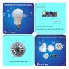 Lampe d'intérieur d'ampoule de globe de l'éclairage 15W 18W 20W E27/B22 PF>0.9 DEL de RoHS DEL de la CE de la Chine