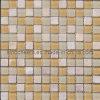 El cuarto de baño decoración mural mosaico de piedra de cristal