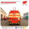 La conception spéciale 5 compartiments pétrolier inflammables semi-remorque