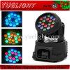 PRO 18 3W LED Mini Beam Wash Moving Head Light