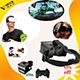 Venda por grosso de Realidade Virtual Smmartphone Fone de ouvido para jogos 3D imersivos