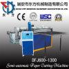 Máquina semi-automática de rolo de papel Folha com motor de passo