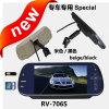 7 de Speciale Rearview Spiegel van de duim met HD MP5 Speler, USB+SD+FM