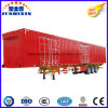 Designer Hot Selling 60ton Enclosed Cargo Truck Trailer Caravan