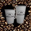 Tazas de café impresas alta calidad