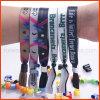 Festival feito sob encomenda Woven Fabric Wristband para Events (PBR003)