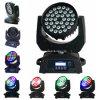 36HP 10W RGBW 4NO1 Cabeça Móvel LED RGBW luz de lavagem com zoom