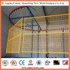 Clôture provisoire soudée peinte par PVC en métal de treillis métallique