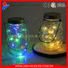 Beber jarras decorativas Mason, Mason Jar solar de cristal de la boda