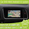 Coche DVD Navi androide para Audi Q5 con el sistema del androide 4.0 de la pantalla táctil de la capacitancia (EW813)