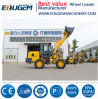 Eoguem setzte das 2 Tonnen-Cer-für Preis mini kleine Vorderseite-Rad-Dieselladevorrichtung mit 4 in 1 Wanne fest