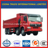 높은 가중치 수용량 12 바퀴 HOWO 덤프 트럭