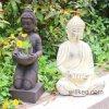 Suporte de vela decorativo Home por atacado de Buddha da resina