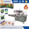 Máquina fresca vegetal automática llena de la película del queso de cadena del pan de la torta