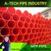 De plastic Mpp van Producten Waterdichte Elektrische Montage van de Pijp van de Kabel van de Draad