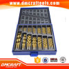 Morceaux de foret de qualité normale de 99PCS 4241HSS pour le bois et le métal