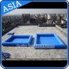 Raggruppamento gonfiabile personalizzato del PVC con colore blu da vendere