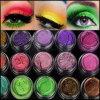 la gama de colores del polvo del sombreador de ojos 18colors, brillo cosmético pulveriza el pigmento de la perla
